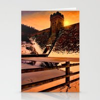 dark tower Stationery Cards featuring The Dark Tower by Deltic Digital Imaging