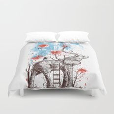 A Happy Place Duvet Cover