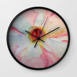 Camellia in Pink Wall Clock