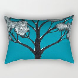 Blooming Tree Rectangular Pillow