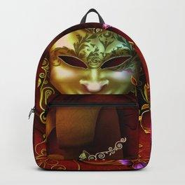 Wonderful venetian mask Backpack