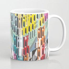 Technicolor Metropolis  Coffee Mug