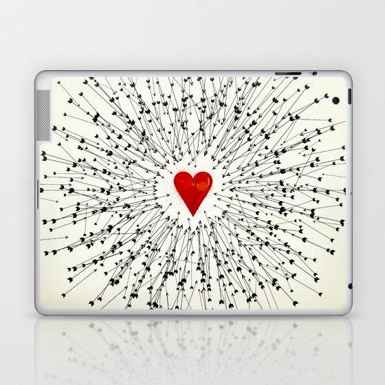 Heart&Arrows Laptop & iPad Skin