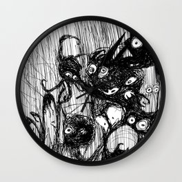 Goodnight Monsters: Nightmares Are REAL! Wall Clock
