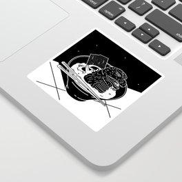 Godzilla Ramen Sticker