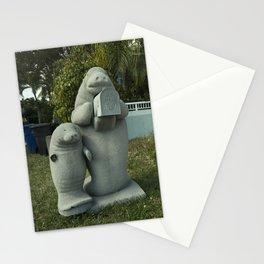 Manatee Mailbox  Stationery Cards