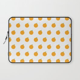 Orange Repeat Pattern Laptop Sleeve