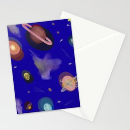 Space Story Stationery Cards