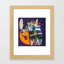 CountDown 4 Framed Art Print
