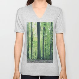 Beech Trees Unisex V-Neck