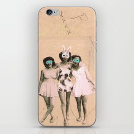 Imaginary Friends- Playmates iPhone Skin