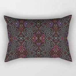 Autumn Tribal Pattern #1 Rectangular Pillow