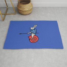Snail Rider Bunny 2019 Rug