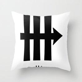 Alchemy Symbol Urine Throw Pillow