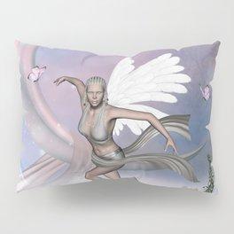Wonderful fairy with butterflies Pillow Sham