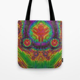 Dynamic Circuitry Tote Bag