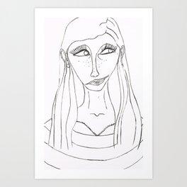 Malena Art Print