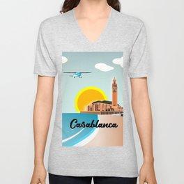 Casablanca Morocco Unisex V-Neck