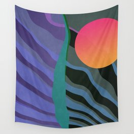 Crepuscular Streams Wall Tapestry