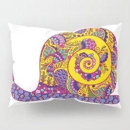 Colorful Snail Pillow Sham