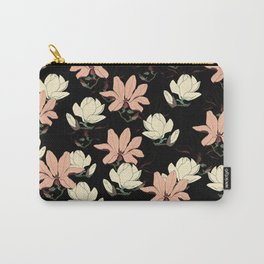 Spring is Here Magnolia Bloom Carry-All Pouch