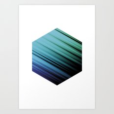 Color Box by [PE] Art Print