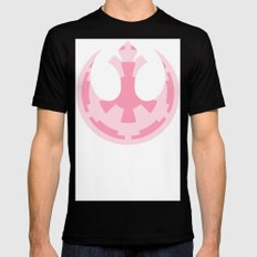 Star Wars Imperial Rebel in Pink MEDIUM Black Mens Fitted Tee