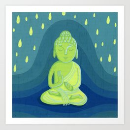Buddha D Art Print