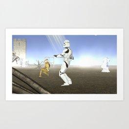War stars: Collusion Art Print
