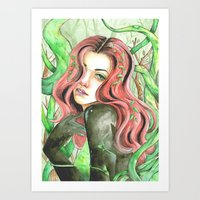 poison ivy Art Prints featuring Poison Ivy by Mitch Antonio