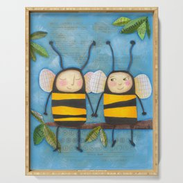 Bee Friends Serving Tray