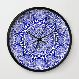 Mehndi Wall Clock
