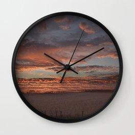 Shenandoah Sunset Wall Clock