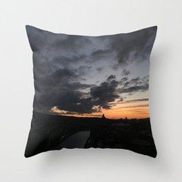 Sunrise in Georgia // #TravelSeries Throw Pillow