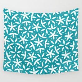 Modern Flower Pattern Artwork 02 New Color 01 Wall Tapestry