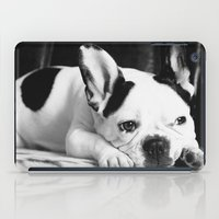 french iPad Cases featuring French Bulldog by Falko Follert Art-FF77