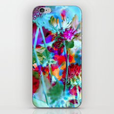 Secret Garden II - Floral Abstract Art iPhone & iPod Skin