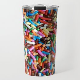 Rainbow Sprinkles Travel Mug
