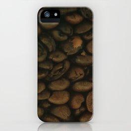 Coffee pattern, fine art photo, Coffeehouse, shops, bar & restaurants, still life, interior design iPhone Case