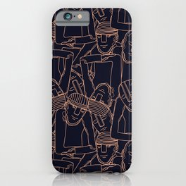 Face sof the World iPhone Case