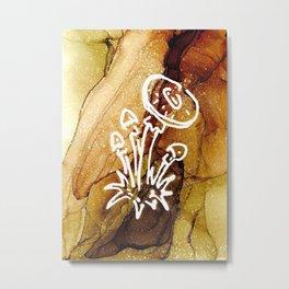 Brown Cap Boletus Mushroom Metal Print