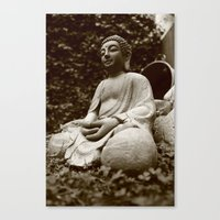 buddha Canvas Prints featuring Buddha by Falko Follert Art-FF77