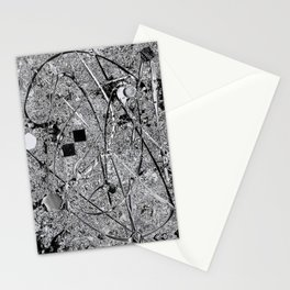 Power of Silver Stationery Cards