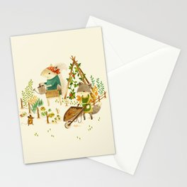 Critters: Summer Gardening Stationery Cards