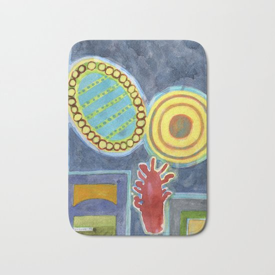 Gigantic Surreal Objects with Furniture Bath Mat