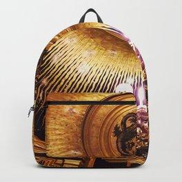 golden ceiling Backpack