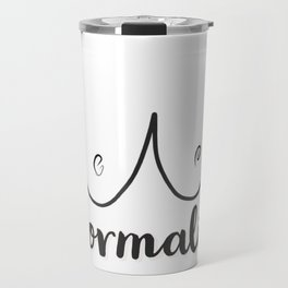 Normalize! Travel Mug