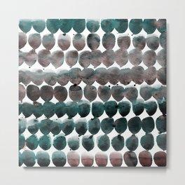 Color Jewels 9-2k by Kathy Morton Stanion Metal Print
