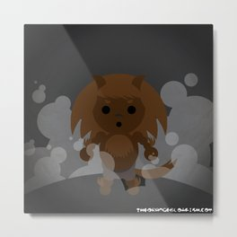 Werewolf in 126 dots Metal Print