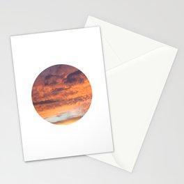 Berkshire Sunset IV circle Stationery Cards